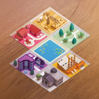 Papertown - Board Game